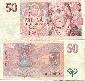 Česká republika - 50 korun - bankovka