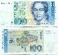 Německo - 100 marek - bankovka